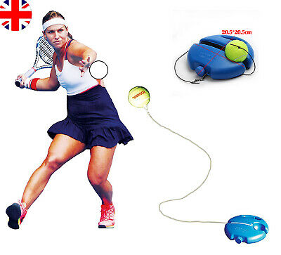 Tennis Kits+Tennis Ball Back Base Singles Training Practice Balls  Trainer Tools