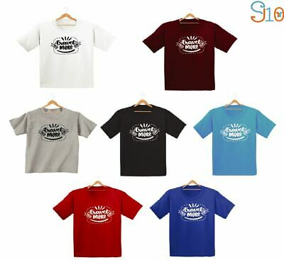 Travel More Printed Kids Boys Girls T Shirts Fashion Cute Gift Tee Family Dope
