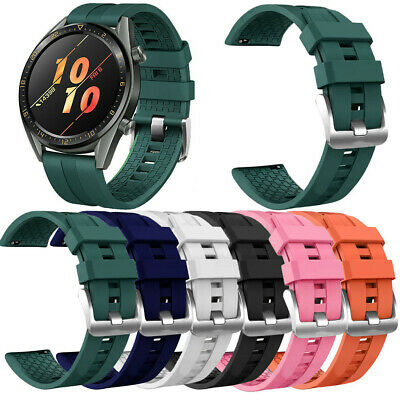 Correa de Reloj Silicona Strap Band For Huawei Watch GT Active 46mm Honor Magic