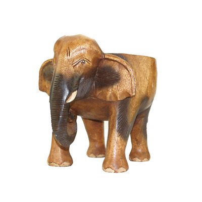 Tremendous 10 Wooden Elephant Stool Flower Pot Stand Hand Carved Onthecornerstone Fun Painted Chair Ideas Images Onthecornerstoneorg