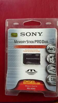 Sony 256 MB Memory Stick PRO Duo Card - (MSX-M256S)