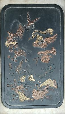 China ancient flowers and plants ink block folk collection    08