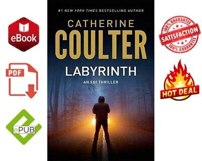 📚LABYRINTH by Catherine Coulter 📩(E-B00K)📓🎁FAST DELIVERY🎁epub and pdf 🎁
