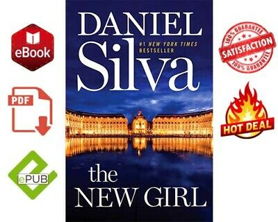 📚THE NEW GIRL by Daniel Silva 📩(E-B00K)📓🎁FAST DELIVERY🎁epub and pdf 🎁