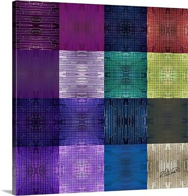 """Canvas Art Print """"Textured Squares Two"""""""