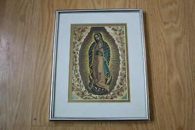 Framed and Matted - Catholic - Our Lady of Guadalupe - Ready to Hang