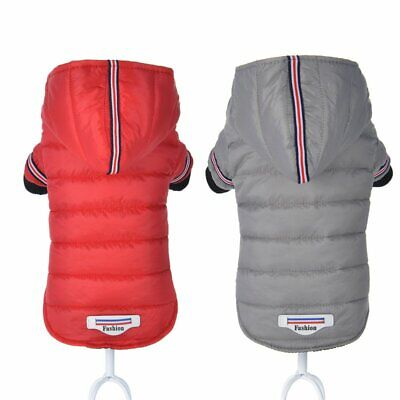 Dog Jacket Puppy Coat Warm Waterproof Hoodies Yorkshire Outfit Comfy Jacket08/0