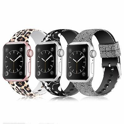3 Correa recambio Apple Watch Series 1 2 3 4 pulsera silicona iWatch  42-44mm