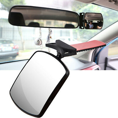 Baby Car Seat Rear View Mirror Facing Back Infant Kids  Toddler Ward Safety E LS