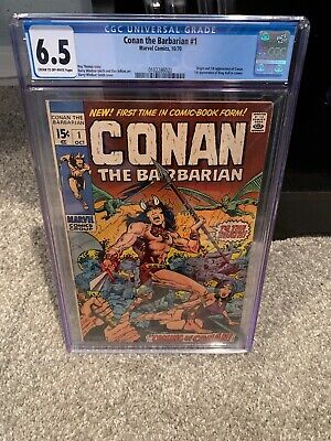 Conan the Barbarian (Marvel) #1 1970 CGC 6.5 Clean Case And Book!