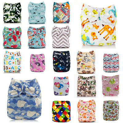 Diapers 4-layers Baby Insert Nappy+ ALVA Size Cloth One Reusable Pocket 1 Bamboo