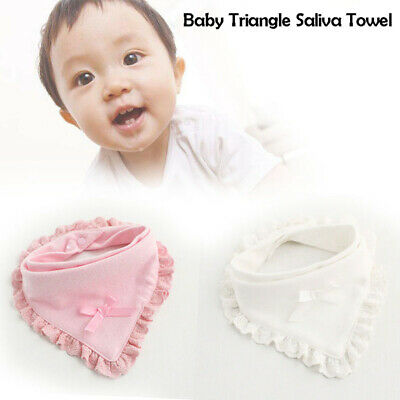 New Baby Boys Girls Bibs Saliva Towel Newborn Bandana Triangle Head Scarf Cute
