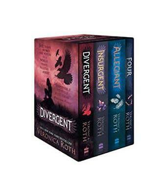 Divergent Series Box Set Books 1-4 by Veronica Roth Mixed media product NEW Book