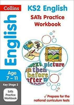 KS2 English SATs Practice Workbook by Collins KS2 Paperback NEW Book