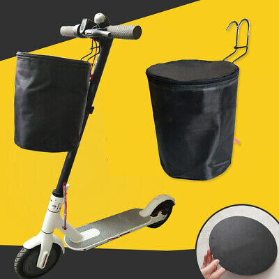 Universal Electric Scooter Front Storage Bag Basket Foldable For Xiaomi