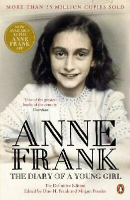 The Diary of a Young Girl by Anne Frank New Paperback Book