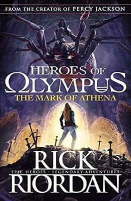The Mark of Athena Heroes of Olympus Book 3 by Rick Riordan Paperback NEW Book