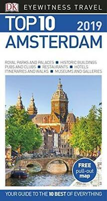 Top 10 Amsterdam by DK Travel Paperback NEW Book