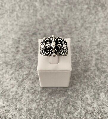 Sterling Silver 925 Ring Inspired Byzantine Decoration