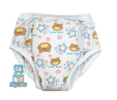 Adult training pant Baby Bear print diaper incontinence pants autistic
