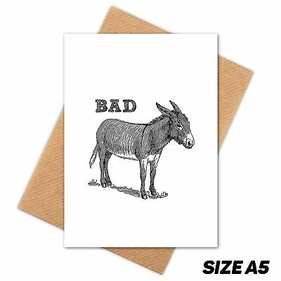 BAD ASS DONKEY Card Guard HOLDEM POKER COVER Protector Paper Weight