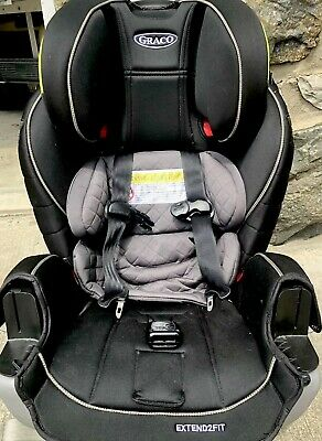 Graco Extend2Fit 3-in-1 Car Seat featuring TrueShield Technology,