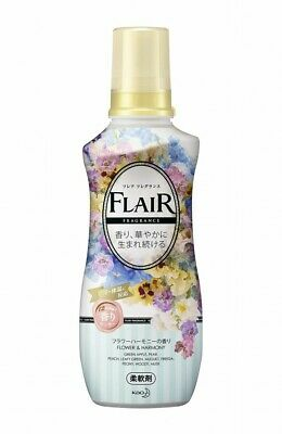 Kao Japan FLAIR FRAGRANCE Laundry Fabric Softener Flower & Harmony 570ml