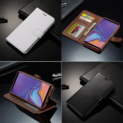 For Samsung Galaxy Leather A10 Magnetic A70 30 A50 Wallet PU A40 Flip Case Cover