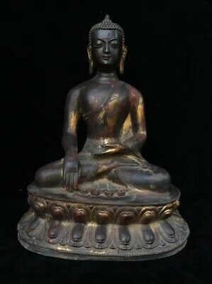 Ancient China (copper Buddha) collectibles 83 0071