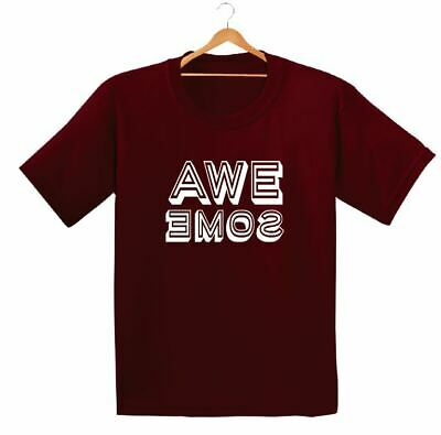 Awesome Printed Kids Boys Girls T Shirts Cool Play Fashion Style  Dope Tee