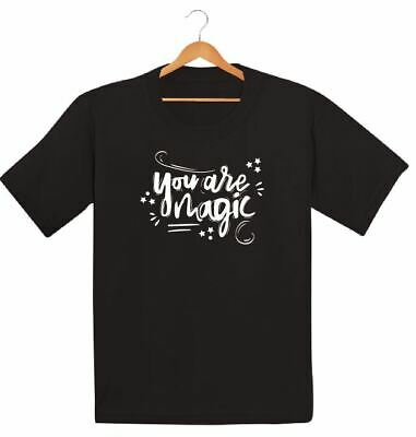 You Are Magic Printed Kids Boys Girls T Shirts Fashion Trend Retro Tee Swag Dope