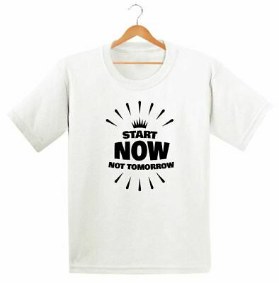 Start Doing Now Printed Kids Boys Girls T Shirts Fashion Cute Retro Tee Dope