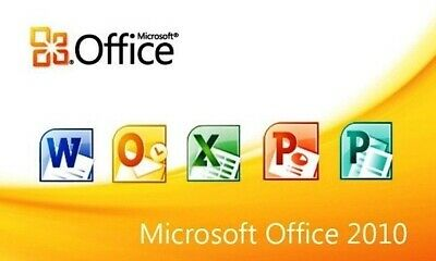 MS- OFFICE 2010 PRO PLUS KEY  + Download Link  -32/64BIT -  30seconds Deleivery