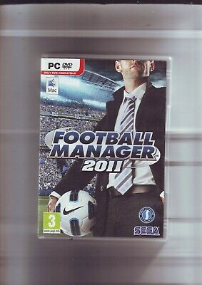 Football Manager 2011 - Pc & Apple Mac Game - Fast Post- Original & Complete Vgc