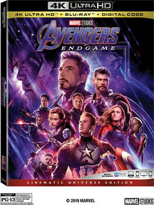 Avengers: Endgame [New 4K Ultra HD] With Blu-Ray, 4K Mastering, Ac-3/Dolby Dig
