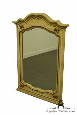 "STANLEY FURNITURE French Provincial Cream Painted 49x35"" Dresser / Wall Mirror"