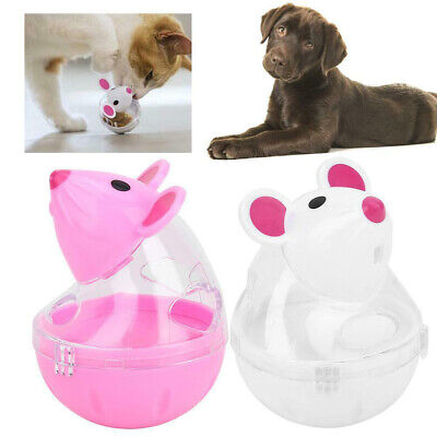 Pets Cats&Dogs Tumbler Toy Puppy Food Leaking Dispenser Training Treat Ball Toys