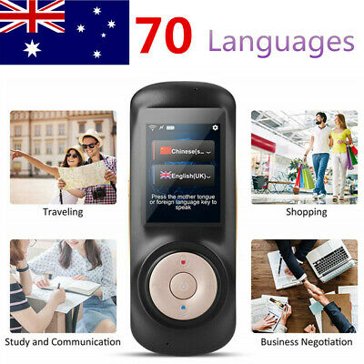 "2.4"" Smart Instant Voice Translator Device 70 Languages Pocket Smart Translator"