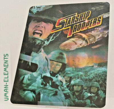 STARSHIP TROOPERS - Lenticular 3D Flip Magnet Cover FOR bluray steelbook
