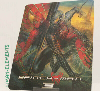 SPIDER-MAN 3 tobey maguire Lenticular 3D Flip Magnet Cover FOR bluray steelbook