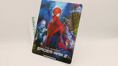 THE AMAZING SPIDER-MAN 2 - Lenticular 3D Flip Magnet Cover FOR bluray steelbook