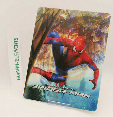 THE AMAZING SPIDER-MAN 1 - Lenticular 3D Flip Magnet Cover FOR bluray steelbook