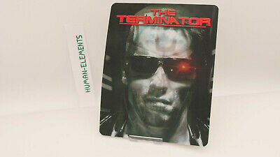 THE TERMINATOR 1 - Lenticular 3D Flip Magnet Cover FOR bluray steelbook