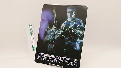 TERMINATOR 2 JUDGMENT DAY - Lenticular 3D Flip Magnet Cover FOR bluray steelbook
