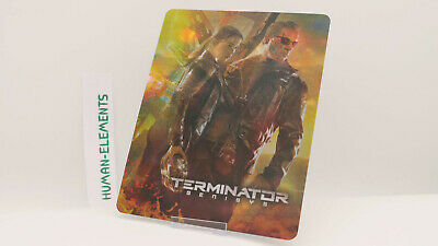 TERMINATOR GENISYS - Lenticular 3D Flip Magnet Cover FOR bluray steelbook