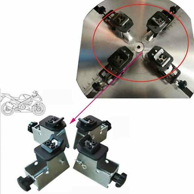 Motorcycle/ATV Wheel Rim Adaptor Tyre Changer Clamp Jaw Tire Remove Changer New