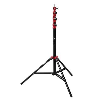 Flashpoint Pro Air-Cushioned Heavy-Duty Light Stand (Red, 9.5') #FP-S-9-RD