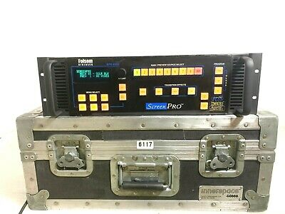 Folsom Research Spr-2000 Scrnpro High Resolution Seamless Switcher W/Case (One)