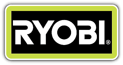 "Ryobi Tools USA Car Bumper Window Tool Box Sticker Decal 6""X3"""