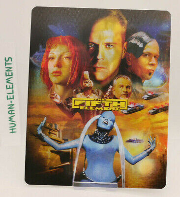 THE FIFTH ELEMENT - Lenticular 3D Flip Magnet Cover FOR bluray steelbook